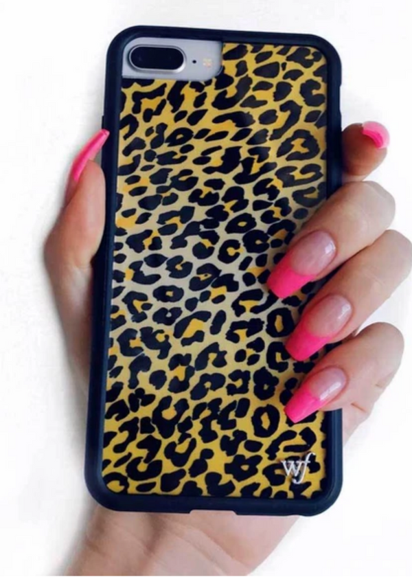WILDFLOWER | Leopard iPhone Case