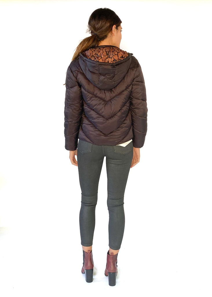 SCOTCH AND SODA | Short Quilted Jacket