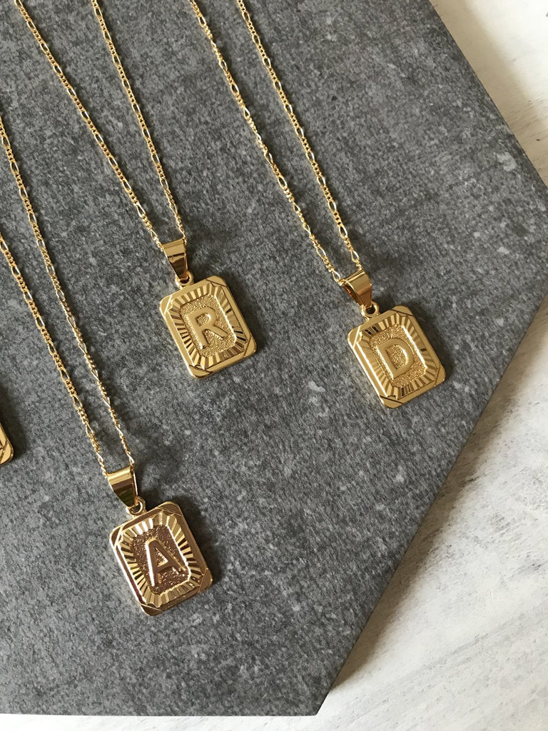 BRACHA | Initial Necklace