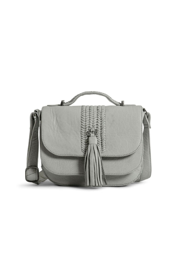 mint top handle bag