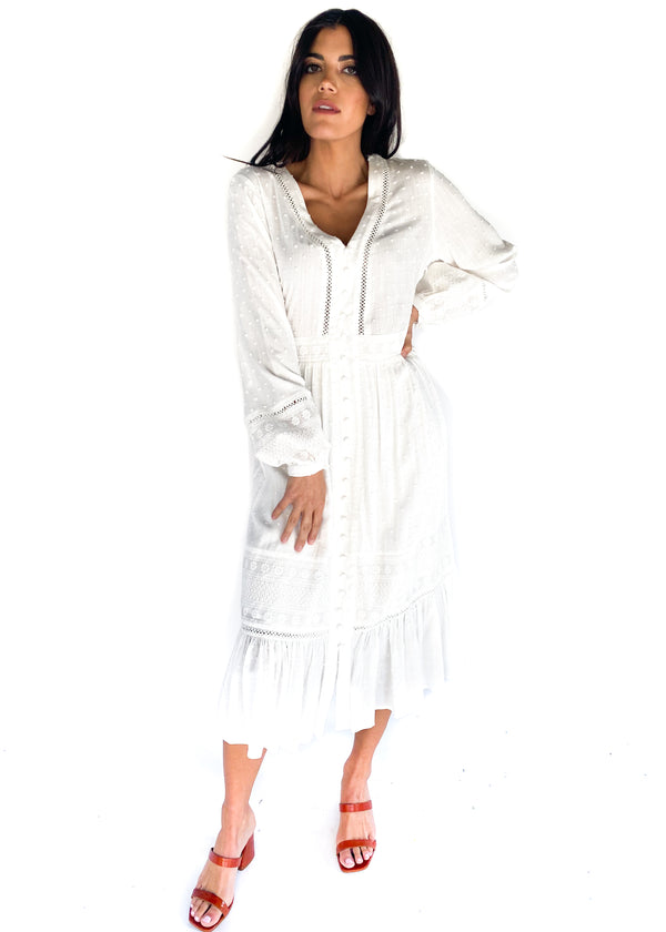 FRNCH | Adia White Dress