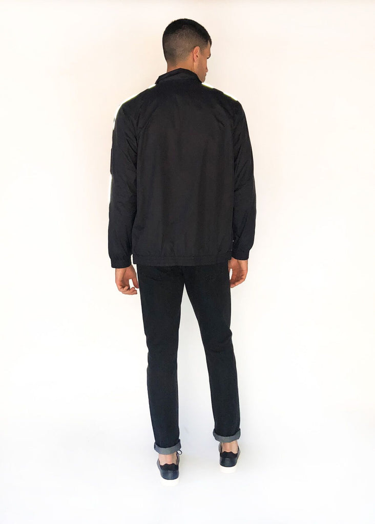 SATURDAYS NYC | Everett Track Jacket in Black
