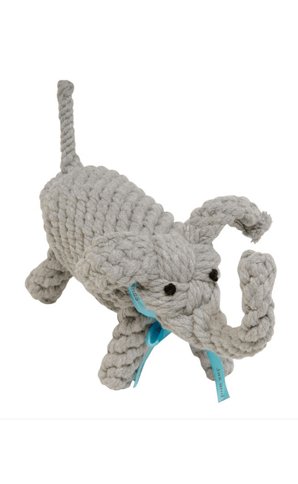 JAX & BONES | Elephant Large Dog Toy