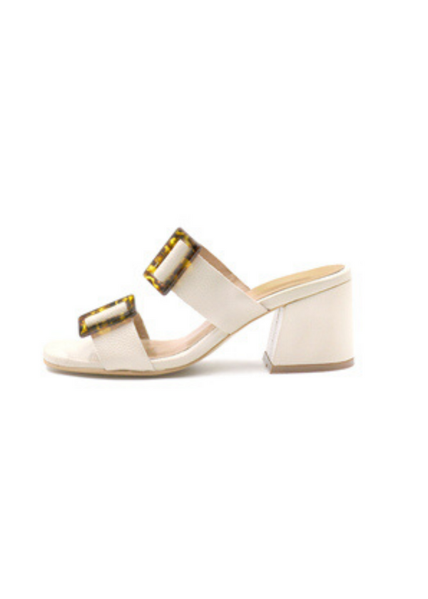 KAANAS | Syros Heel in White