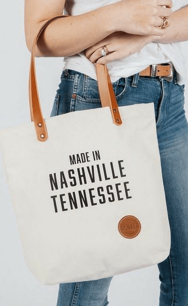 HUNKER BAG CO | Nashville Market Tote