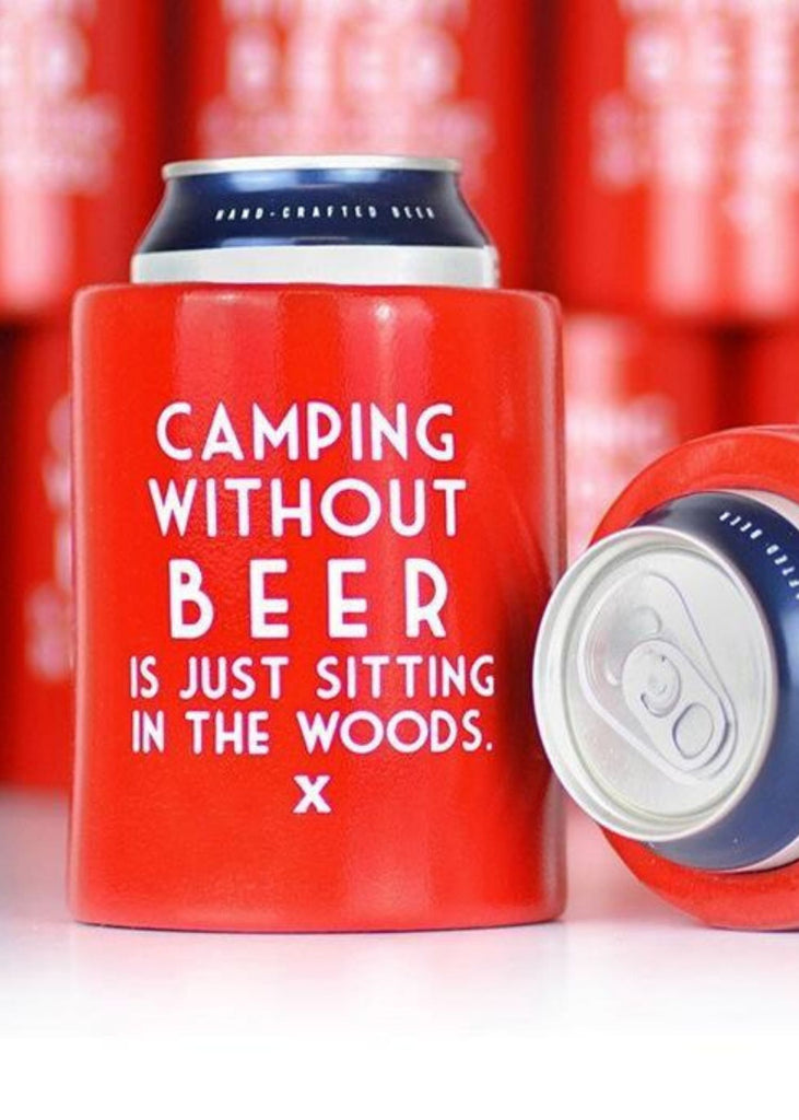 MERIWETHER | Camping Without Beer Koozie