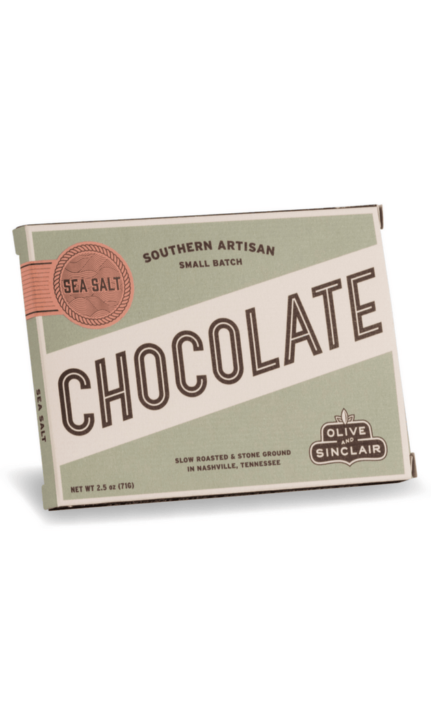 OLIVE AND SINCLAIR | Sea Salt Chocolate Bar