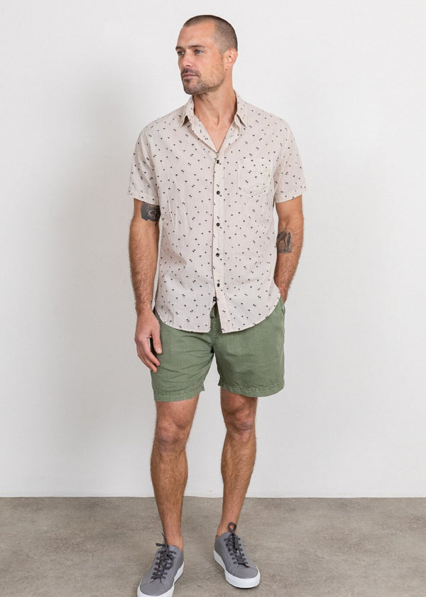 RAILS | Carson Palm Short Sleeve Button Down