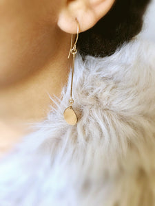 minimal bohemian earrings