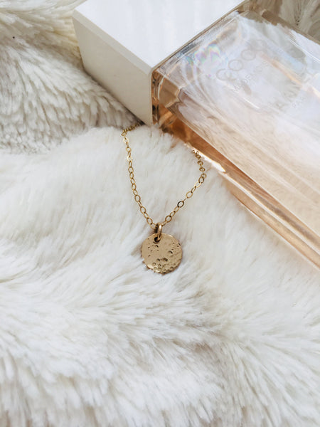 obsessed with our moon necklace