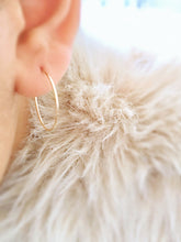 magic dust hoop earrings in gold + silver - andJules Jewelry