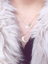 lullaby crescent moon necklace - andJules Jewelry