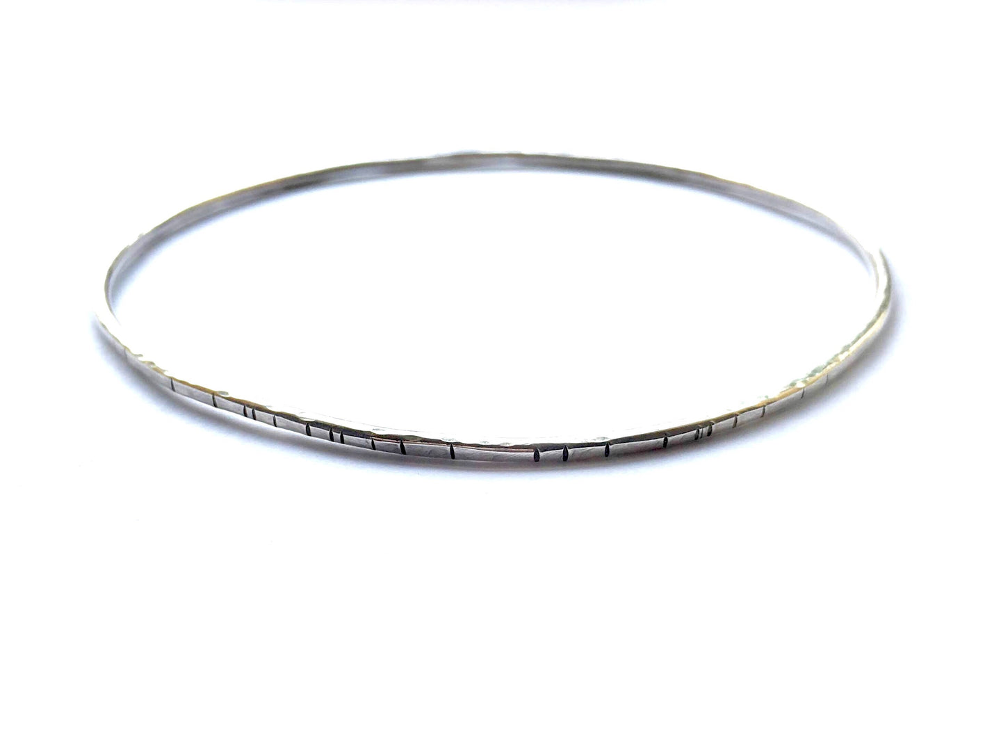 wild poetry bangle bracelet, sterling silver - andJules Jewelry