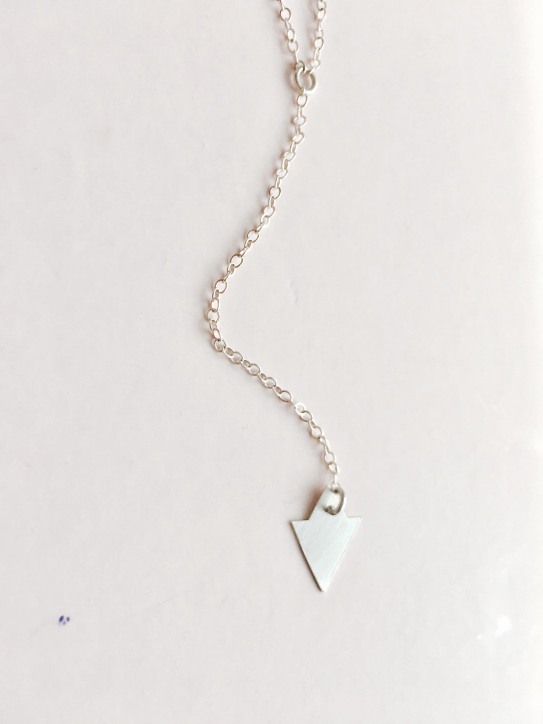 small starlet lariat necklace in silver or gold - andJules Jewelry