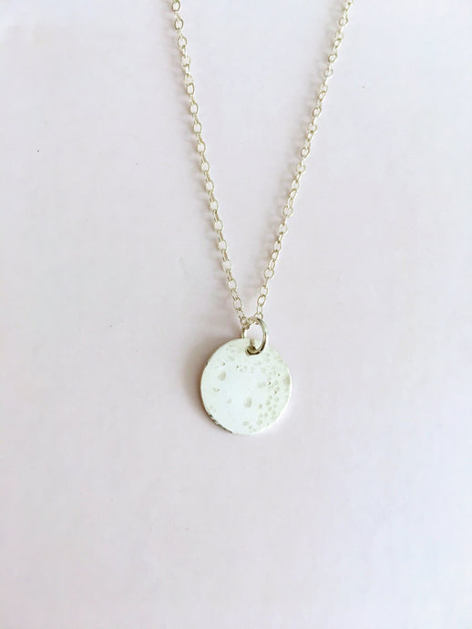 lullaby full moon necklace - medium - andJules Jewelry