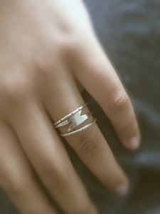 lightning bolt ring - andJules Jewelry