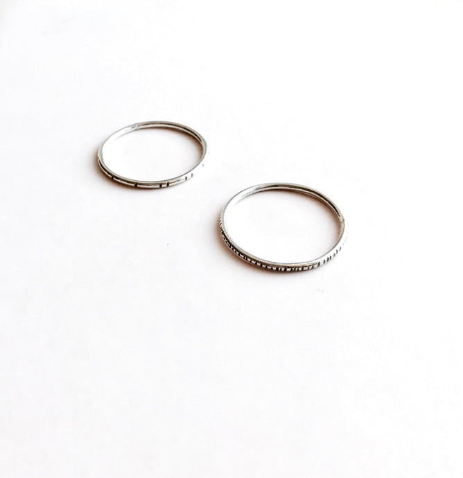 twilight + dawn ring set - andJules Jewelry