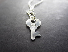 lucky 13 key necklace - andJules Jewelry