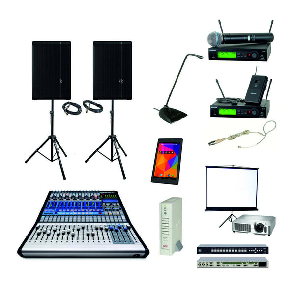 Basic Package with 2 Projectors & switcher