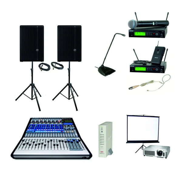 Conference Sound Package with Projector
