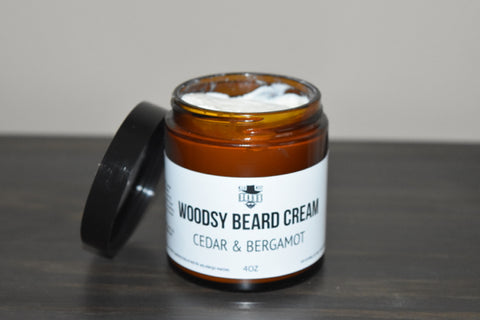 Woodsy Beard Cream - SALE