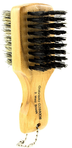 Mini Two Sided Boar Bristle Brush