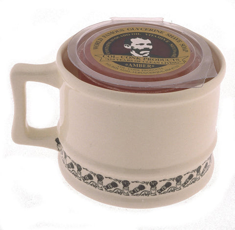 Colonel Conk Model 129 Super Shave Mug
