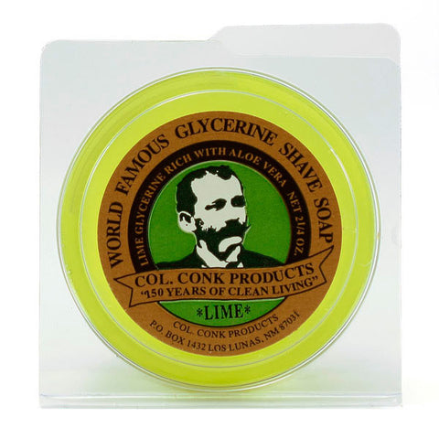 Col. Conk Lime Shaving Soap