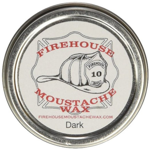 Firehouse Mustache Wax: Dark Wax