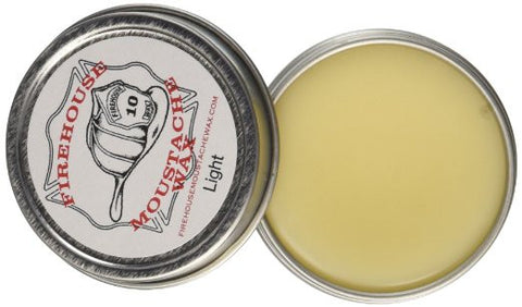 Firehouse Mustache Wax: Light Wax