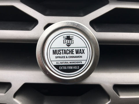 Spruce & Cinnamon Extra Firm Hold Mustache Wax