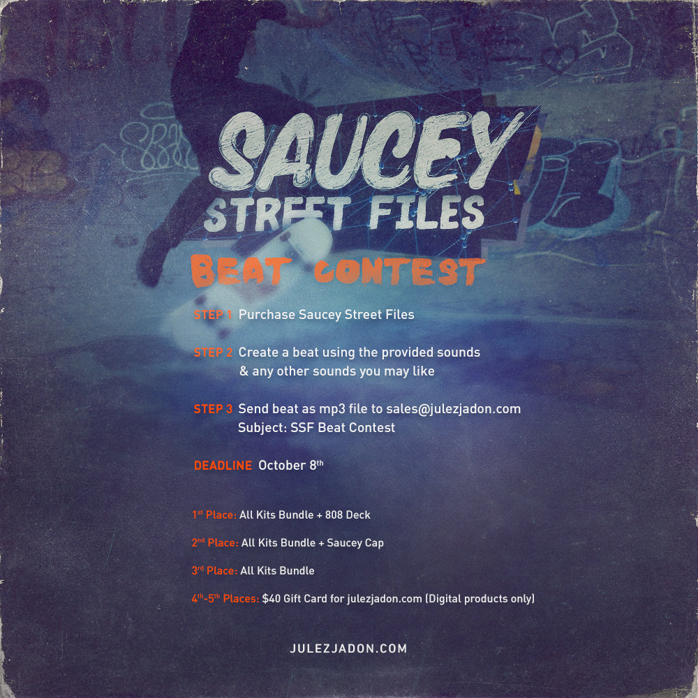Saucey Street Files Beat Contest