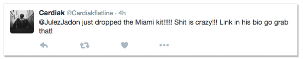 Miami Drum Kit Testimonial
