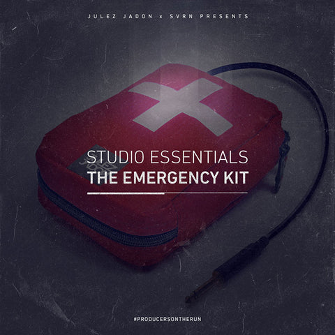 Studio Essentials: The Emergency Kit (WAV Format)