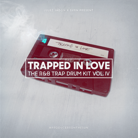 Trapped In Love: The R&B Trap Drum Kit Vol. IV