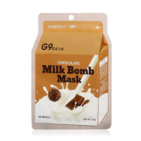 CHOCOLATE MILK BOMB MASK