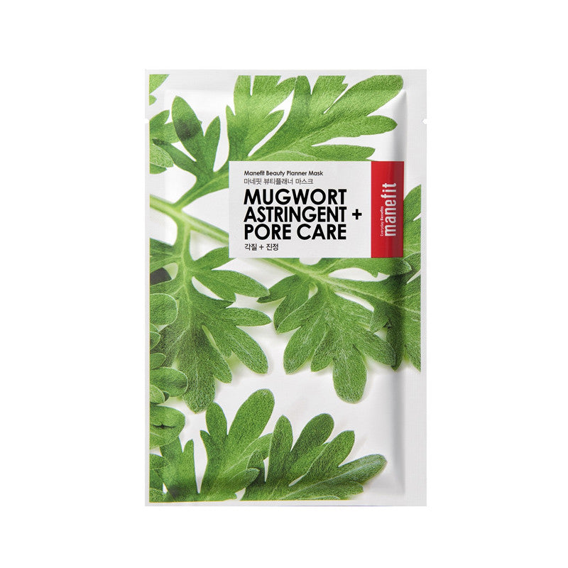 MUGWORT ASTRINGENT AND PORE CARE SHEET MASK