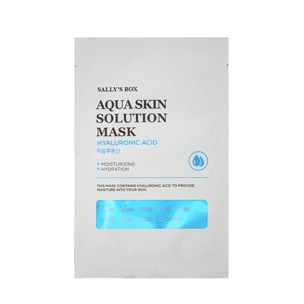 AQUA SKIN SOLUTION HYALURONIC ACID MASK