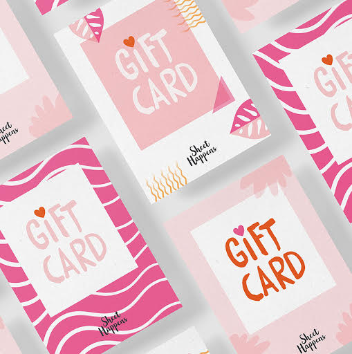 Sheety Gift Card