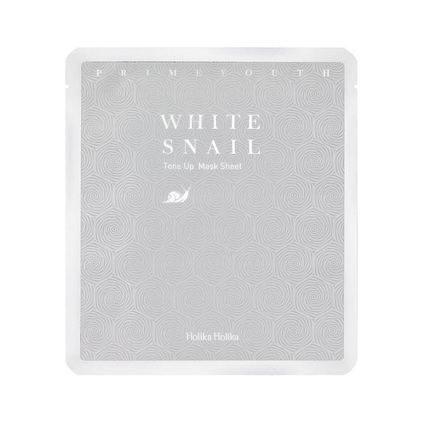 Prime Youth White Snail Mask
