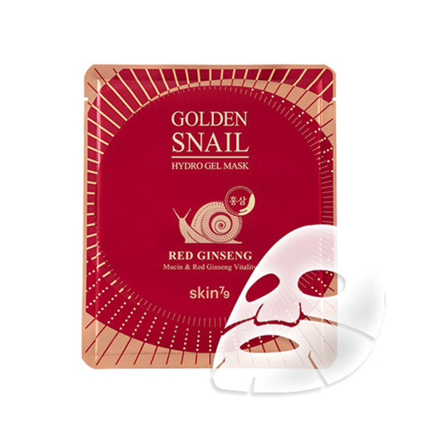 GOLDEN SNAIL HYDRO GEL MASK RED GINSENG
