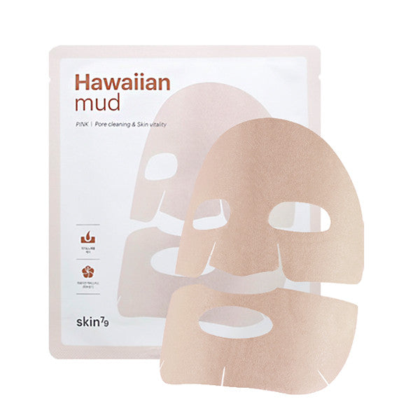 HAWAIIAN MUD SHEET MASK -PINK