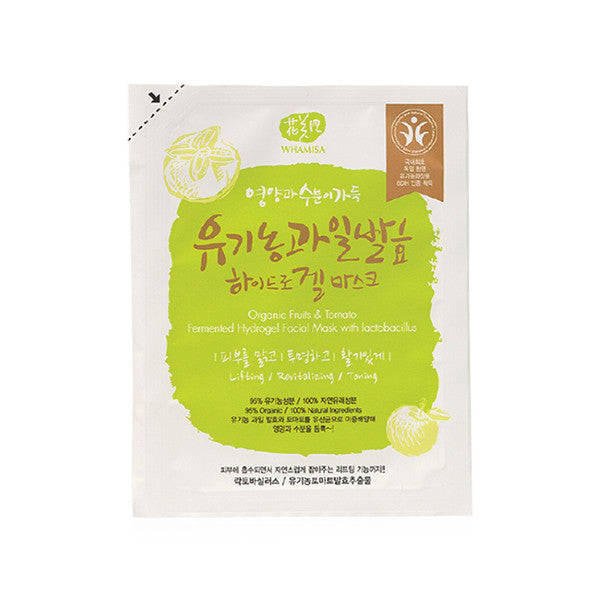 Organic Fruits & Tomato Fermented Hydrogel Facial Mask