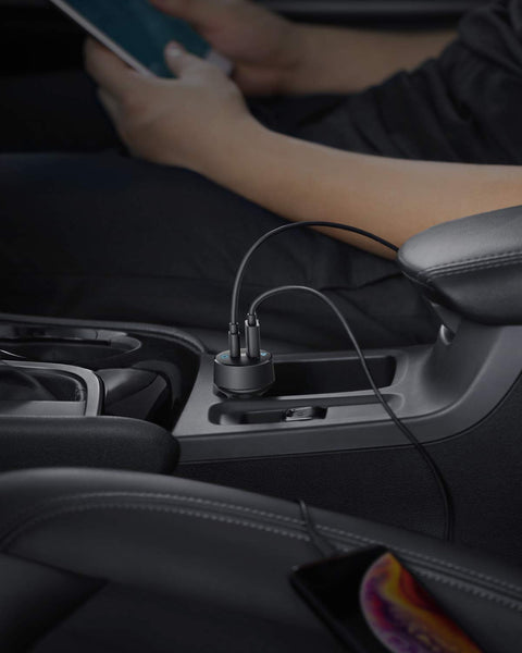 Anker USB C Car Charger Power Drive PD 2 30W 2-Port Type C