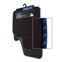 View of a collection of Tailored custom car mats, specifically Honda CRZ (2010-2013) Custom Car Mats