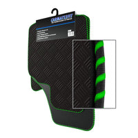 View of a collection of Tailored custom car mats, specifically Vauxhall Frontera SWB (1991-2003) Custom Car Mats