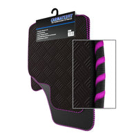 View of a collection of Tailored custom car mats, specifically Vauxhall Frontera LWB (1991-2003) Custom Car Mats