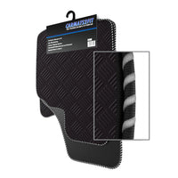 View of a collection of Tailored custom car mats, specifically Vauxhall Corsa D (2006-2014) Custom Car Mats