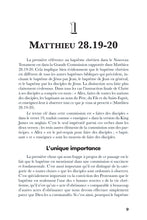 Baptism: A Biblical Study (French)
