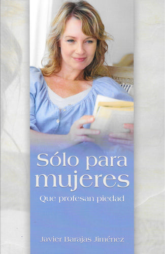 Only for Women Professing Godliness (Spanish)